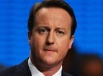 UK's Cameron Hit By Egg On Election Trail