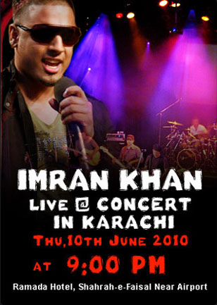 Win 50 Free Tickets for Imran Khan Concert at Karachi & Lahore