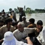 Relief efforts in flood-hit areas of Sindh