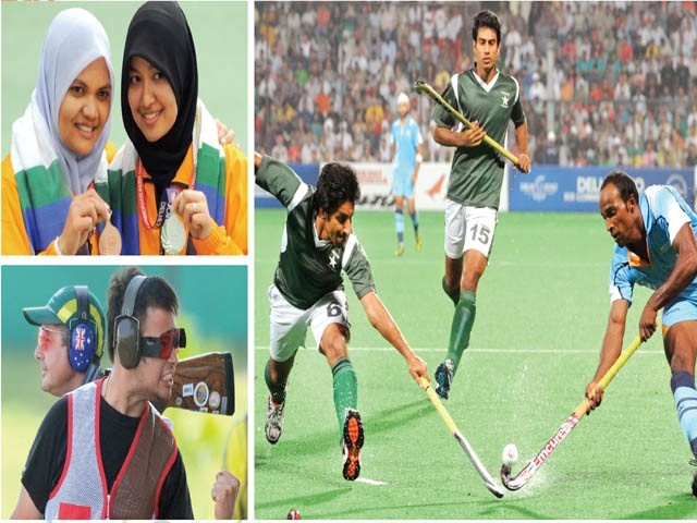 Double gold for Pakistan in Delhi