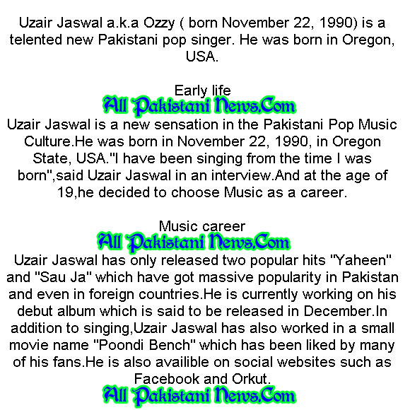Uzair Jaswal New Ofiicial Album Full Video Song HQ