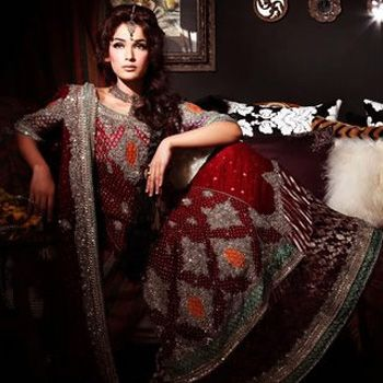 Latest Bridal Dresses Designs in Pakistan