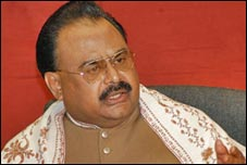 Altaf Hussain Warns to the PPP Government