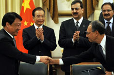 Pak-China Sign 13 Agreements