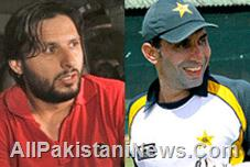 Misbah and Afridi in ODI Captaincy
