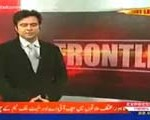 Veena Malik on Express News at Front line with Sayed Noor and Atiqa Odho