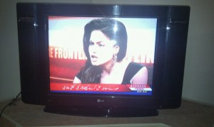 Veena Malik on Kamran Shahid's show with Mufti on Express News