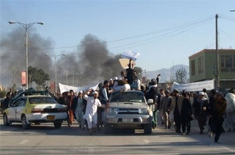 Quran Protests Spread to Afghanistan East
