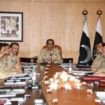 Corps Commanders Concerned Over Karachi Situation