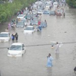 Heavy Rains Cripple in Biggest City Karachi