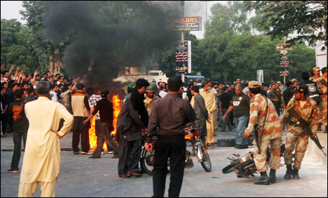 Numaish Chowrangi incident