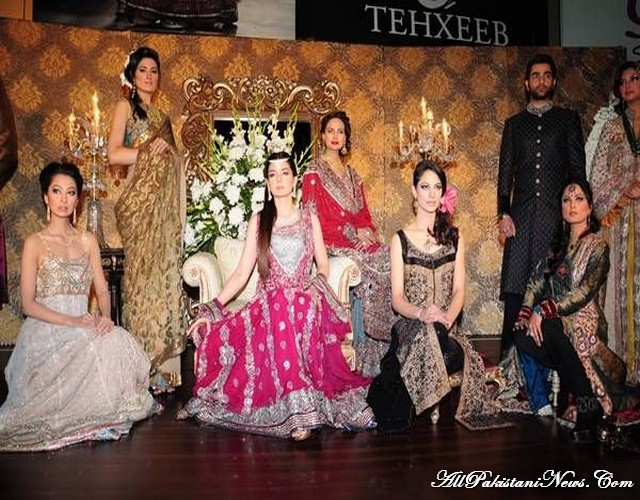 Pakistan Latest Bridals Fashion 2012