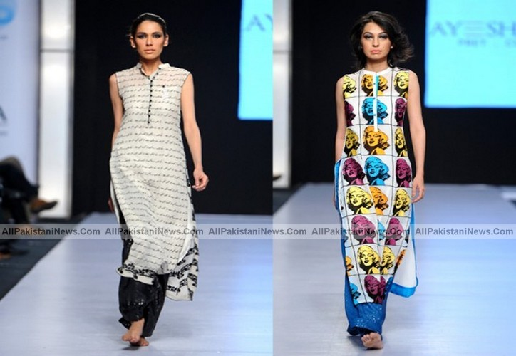 Pakistani Models Showcase 2012 Fashion Show The Perfect Concoction Latest Pakistan Fashion Trand