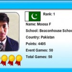 Pakistani Student Mousa Feroz wins World Math Competition