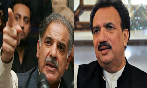 Rehman Malik to sue Shahbaz Sharif