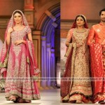 Bridal Couture Week 2012 Latest Colorful Bridal Dresses Collection