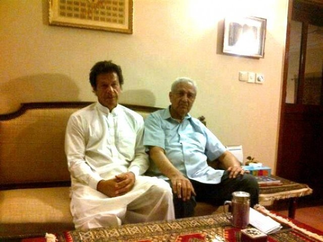 Imran Khan Meet Dr AQ Khan
