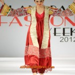 Pakistan Famous Fashion Designer Lakhani Collection at Islamabad Fashion Week 2012