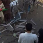 Pakistan Tehreek-e-Inasaf Youth Wing Activists Clash With Each Other During Convention (Faisalabad)