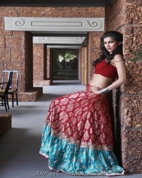 Latest Bridal Wear Colorful Collection 2012
