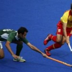 Pakistan vs Spain Play a Draw ( London Olympic Hockey)