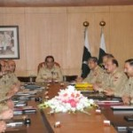 Army Chief led Corps Commanders Meeting Mulls Over Security Professional Issues