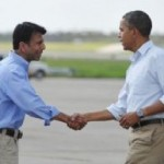 Obama Tours Storm-Hit Louisiana (Hurricane Isaac)