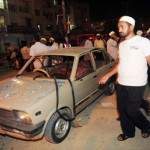 7 Dead 22 Hurt Twin Blasts in Karachi