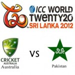 Australia vs Pakistan Live Today at Colombo T20 Cup 2012