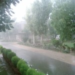 Rain Turns Lahore Weather Pleasant