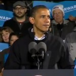 Barack Obama Tears up in Video as he Thanks Campaign Staff After Re Election