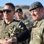 Hollywood Actor James Bond visits Afghanistan