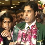 Snooker Champion Muhammad Asif Returns Home
