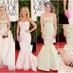 Red Hot Gowns Warm up Chilly Night at Golden Globes
