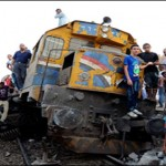 Egypt Train Crash 19 killed