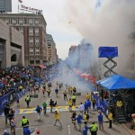 Two Blasts hit Boston Marathon Finish Line killed Three People