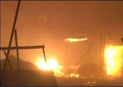 Fire Erupts in Gujranwala