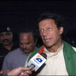 Imran Khan says Do Not Vote for Parties with Militant wings (Karachi)