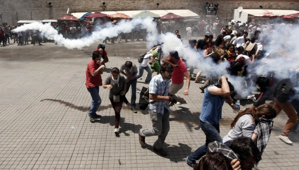 Turkish Opposition of Provoking Anti Government Protests