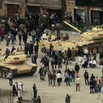Egypt Army Commander Suspends Constitution