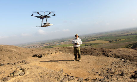 Archaeologists Use Drones in Peru