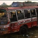 17 Injured 3 Dead as Bus Accident Near Lahore