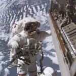 Spacewalkers Install Cameras for Space Video Venture