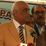 Khursheed Shah says Ch Nisar Not Capable of Holding Talks with Taliban
