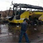 Sinai Tourist Bus Blast 2 Koreans Egyptian Driver Killed