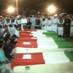 Funeral Prayers of 6 Martyrs Offered (Lahore Tragedy)