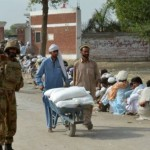 PM sharif Arrives in Bannu to Visit IDP Camps
