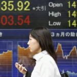 Asia Shares Worn Down by Wall St Oil Near 9-mth Low