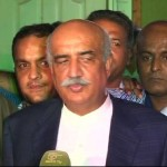 Khursheed Shah says Govt Should Not be Afraid of Long March