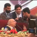 Youth Shoved by Governor Punjab Security Men (VIP Culture)